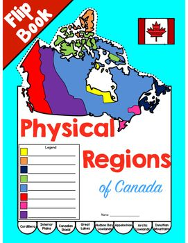 Introduce students to the Canadian physical regions using this flip book. Students write facts learned through inquiry or research in the flip book. Use the categories printed on the flip book pages (physical features, vegetation, rocks and minerals, illustration) or write your own categories in with a pen on the blank version.