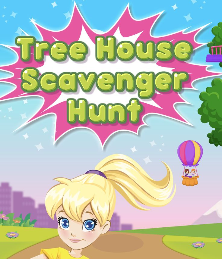 Play Free Online Polly Pocket Tree House Scavenger Hunt