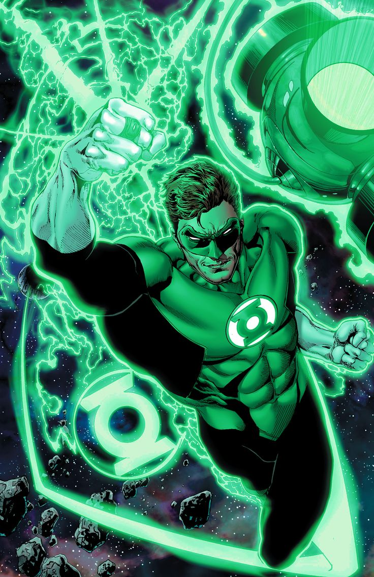 Green Lantern art by Jason Wright.
