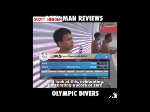 Philippines Olympic diving team