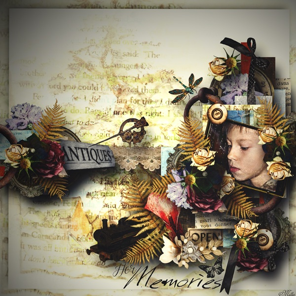 EMPORIUM_OF_ANTIQUITIES by Gracie Tracy  template Magic layers collab Eudora Chen and Tinci Designs