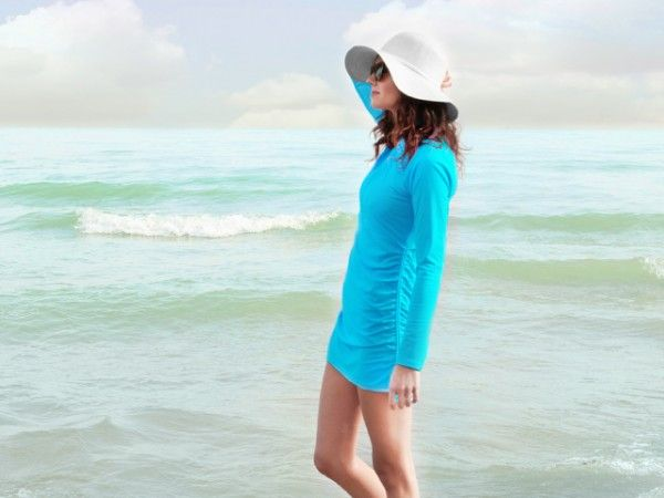 SPF Clothing from Mott 50 // Sun-safe style: Mott 50's sun protective clothing is fashionable and easy to wear.