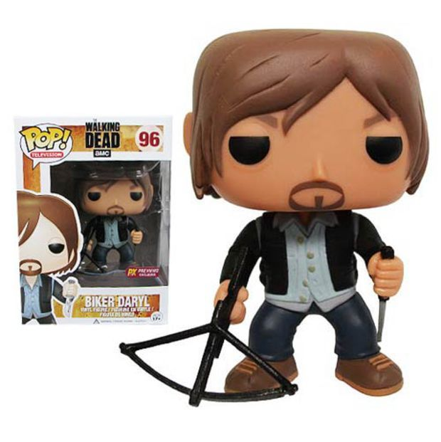 Walking Dead Biker Daryl Dixon Previews Pop! Vinyl Figure - Funko - Walking Dead - Vinyl Figures at Entertainment Earth