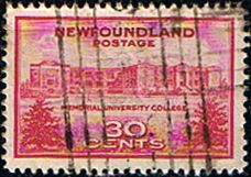 Newfoundland 1943 SG 290 Memorial University Fine Used Scott 267 Other North American and British Commonwealth Stamps HERE!