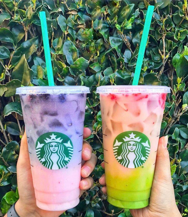 Starbuck's Pink Purple Drink