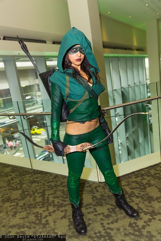 Green Arrow #ECCC2014