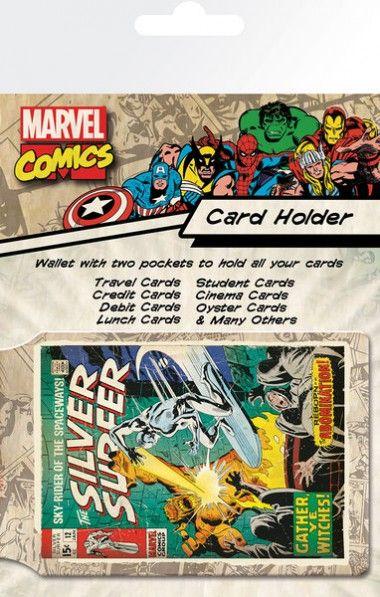 Marvel Srebrny Surfer Retro - okładki na dokumenty i karty