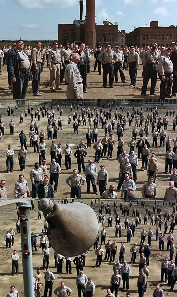 The Shawshank Redemption - Roger Deakins - Roger Deakins' Cinematography: His 15 Coolest Shots    EW