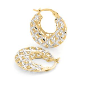 9ct Creole Hoops - Shop our jewellery store in Port Fairy - Victoria, Australia.