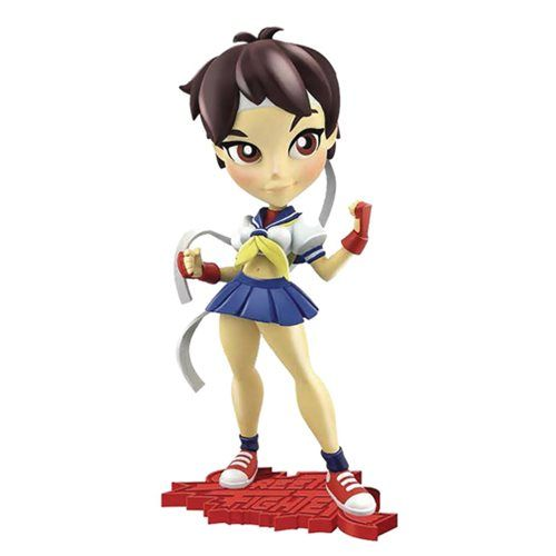 Street Fighter Knockouts Series 1 Sakura Vinyl Figure