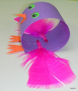 "Inspiration for May 3/5s Week 2 craft ""Ravens to the Rescue"" in Make It Stick."