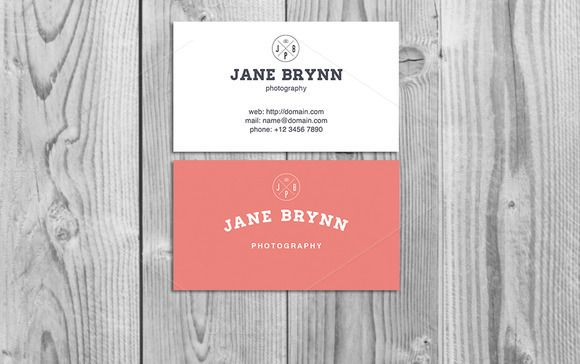 Vintage Business Card Template by Zoku_Designs on @creativemarket