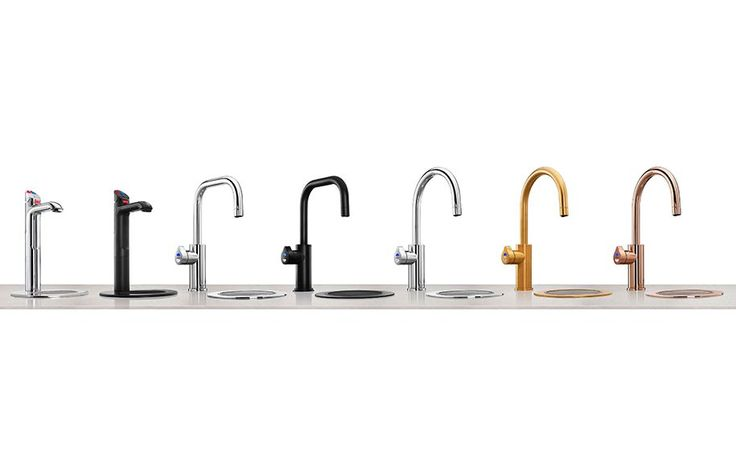 Winner of a Design Award, the Zip HydroTap has had a colour make over.