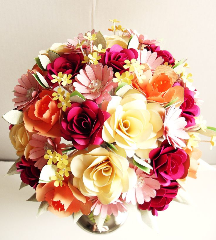 150 best Bouquet images on Pinterest | Bridal bouquets, Fabric ...