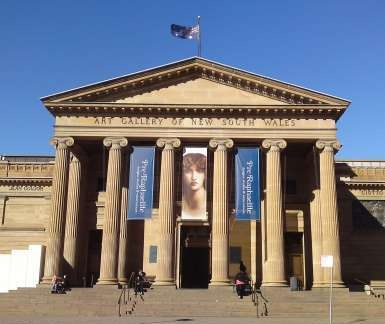 The ART GALLERY OF NEW SOUTH WALES is the leading art museum in Sydney and New South Wales. It has a large collection of Australian, European and Asian art, and holds nearly forty exhibitions every year. General admission is free.