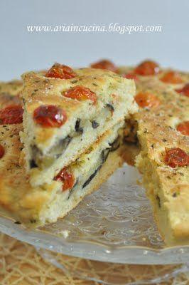 Blog di cucina di Aria: La mia #Focaccia e....melanzane al forno! #ricetta #recipe #italianrecipe