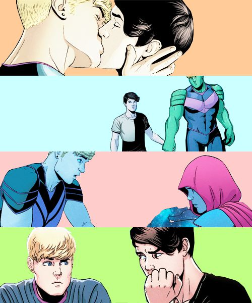 M A R V E L  M E M E [2/9] relationships » Billy Kaplan (Wiccan)/Teddy Altman (Hulkling) You're all I have left. And that's enough, I know. I'm lucky.
