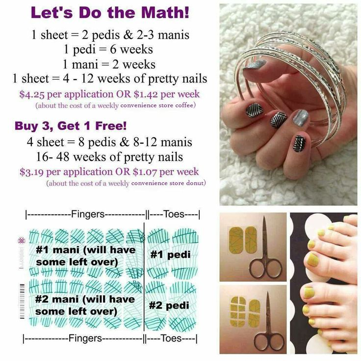 Thrifty Thursday! Let's do the math, shall we? http://sherryhellen.jamberrynails.net