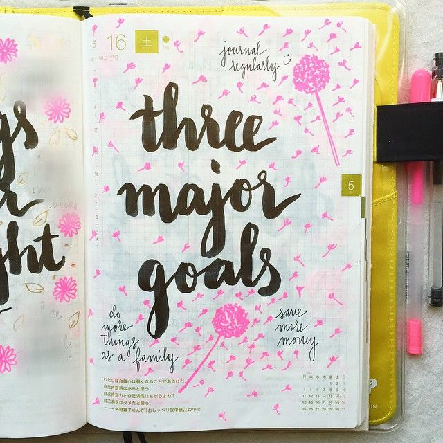 Day 16 of #listersgottalist: three major goals for 2015. Two of three are going pretty well, saving more money is challenging  IG:@pepperandtwine