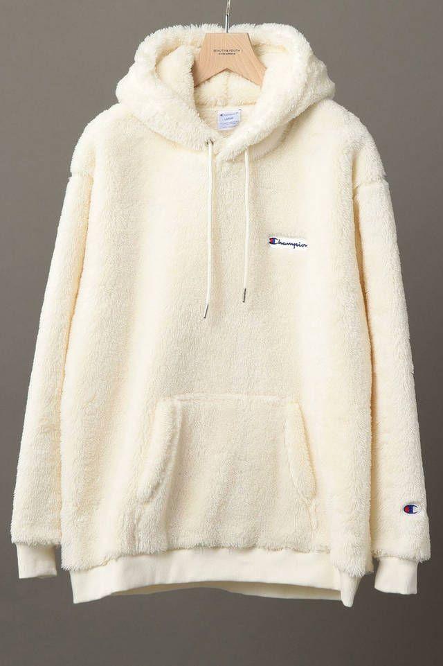 b70257877f4c Champion Beauty and Youth Sherpa Fleece Hoodie Japan Parka Crewneck Sweater