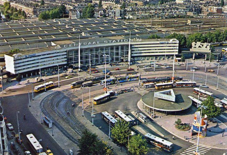 Uit het archief - Station Rotterdam Centraal in de jaren '70.