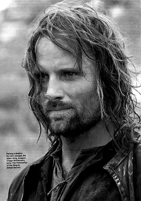 Viggo Mortenson..he is gorgeous! I'm wondering were all the men like Aragorn went and were i can find one!