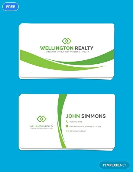 Free Landscaping Business Card Business Card Templates Designs