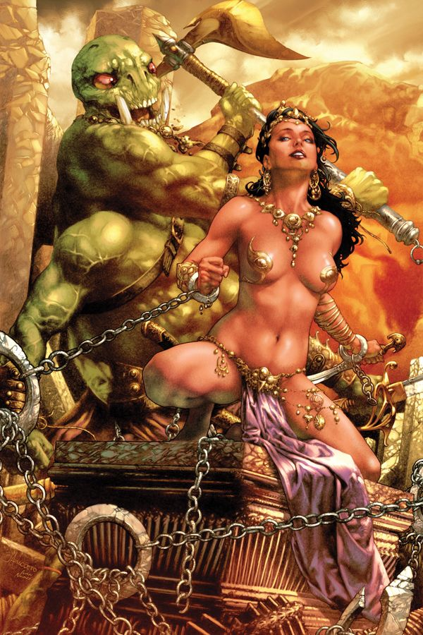 Dejah Thoris and the Green Men of Mars #3 cover •Jay Anacleto
