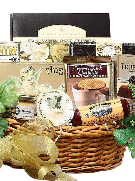 Gourmet Food and Snacks Gift Basket