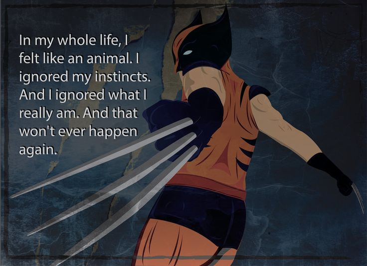 The Wolverine quote - See best of PHOTOS of the WOLVERINE film  http://www.wildsoundmovies.com/the_wolverine_quote.html