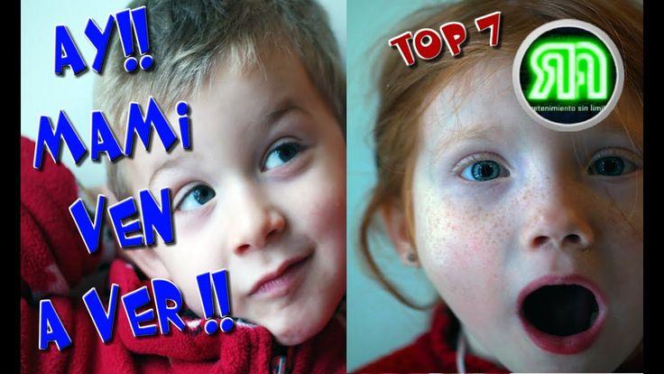 Me Lo Descargue Por Whatsapp  Top 7 | AY !! MAMI VEN A VER !!
