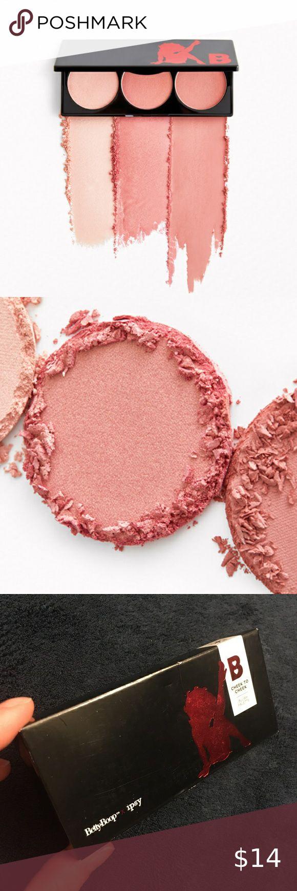 Betty Boop Cheek to Cheek Blush Palette in 2020 Blush