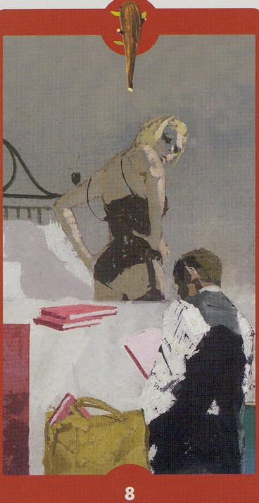 Eight of Wands - Tarot of the Imagination by Ferenc Pinter