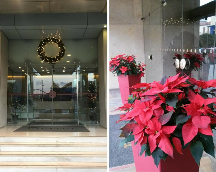 All dressed up for Xmas holidays at Civitel Olympic!  #OlympicAthens