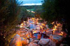 Peninsula Hot Springs. Melbourne's Mornington Peninsula Victoria.
