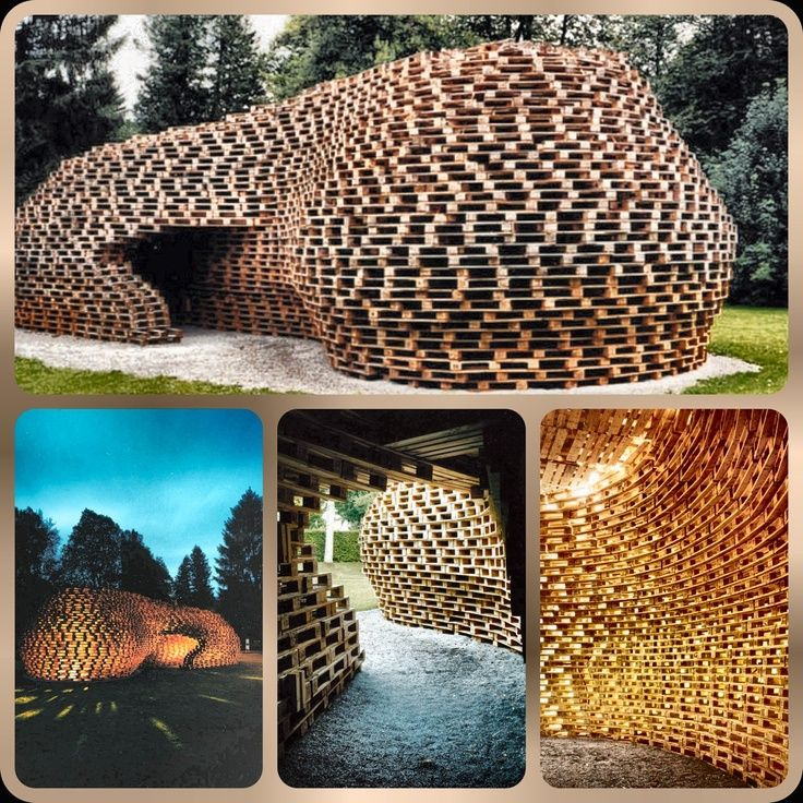 pavillon recycled wood - Cerca con Google
