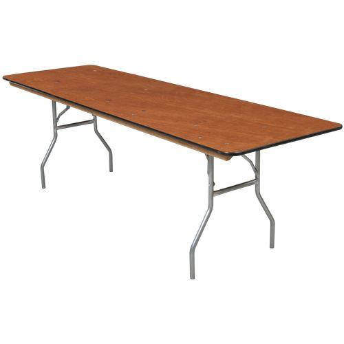 "Banquet Table, 8'x30"" • Rental World PA  $6 ea"