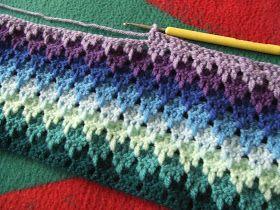 My world of crochet: Häkeln wie am Fliessband...