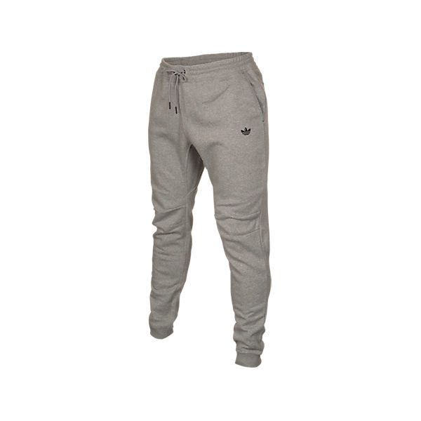 Adidas Men's Originals Sport Luxe Tapered Sweatpants ($40) ❤ liked on Polyvore featuring men's fashion, men's clothing, men's activewear, men's activewear pants, grey, mens slim sweatpants, mens cotton sweatpants, mens cuffed sweatpants, mens activewear pants and mens sweatpants
