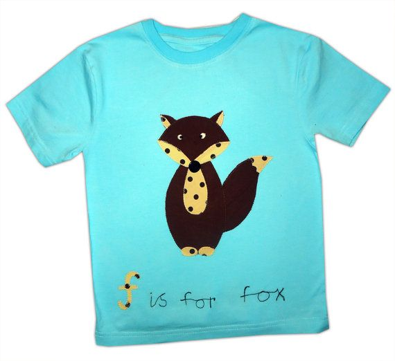 Fox TShirt / Boys Tee Shirt / Girls Top / by WithHugsandKisses, $14.99