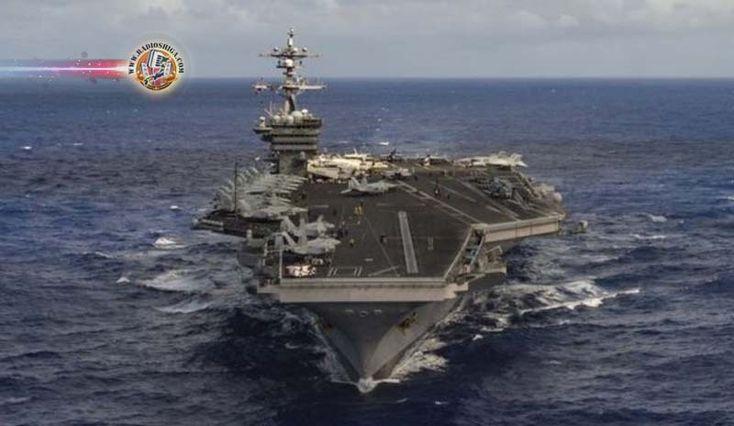 EUA enviam navios de combate à península coreana. Militares norte-americano ordenaram que um grupo de ataque da marinha fosse em direção à península coreana