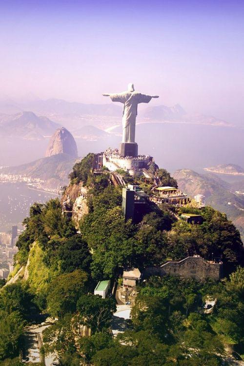 Christ the Redeemer - Corcovado, Rio de Janeiro, Brasil