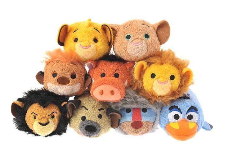 "Collection tsum tsum ""Le roi lion"""