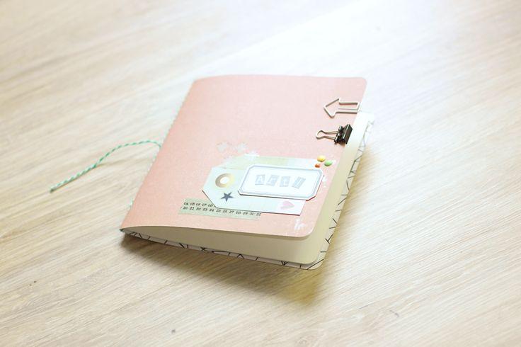 DIY - How to make simple sketchbook tutorial