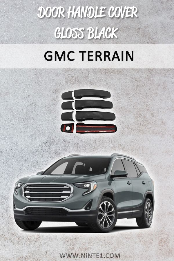 Door Handle Cover With 1 Keyhole For Gmc Terrain Gloss Black In 2020 Ford Explorer Ford Explorer Accessories Gmc Terrain