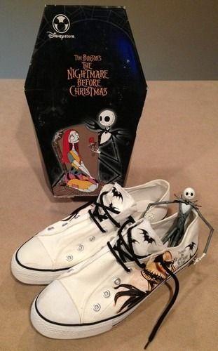 The Nightmare Before Christmas, Tim Burton, Shoes