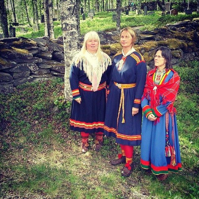 "Go visit the traditional sami fiesta ""Lapphelga"" in Ammarnäs, early every summer. Sorsele, in Swedish Lapland #suorssa #ammarnäs"