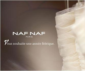Carte de Voeux 2011, NAF NAF Paris