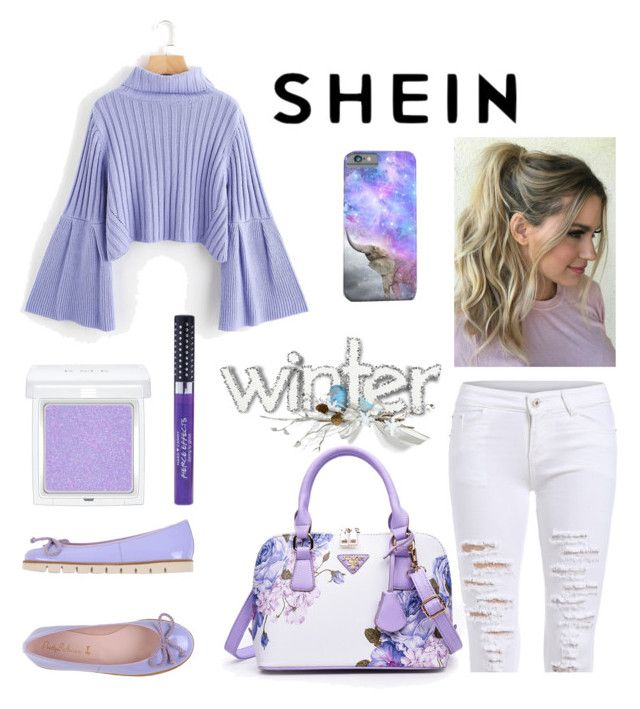 """""""Shein"""" by audreybrookezaring ❤ liked on Polyvore featuring Pretty Ballerinas, RMK and Hard Candy"""