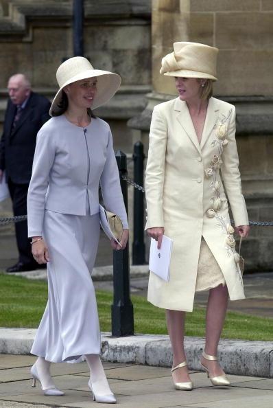 Lady Sarah Chatto and Viscountess Serena Linley